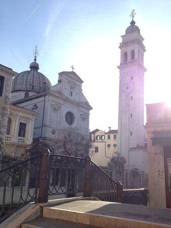 Vénitien classique églises, Venise Banque d'images - 17680930