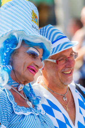disguised: Bavarian Drag Queen at Christopher Street Day