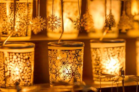 Decorative illuminated Christmas lights