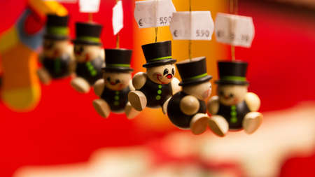 weihnachtsmarkt: Chimney sweeper ornament as a symbol of luck