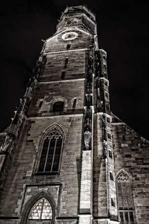 stuttgart: The main tower of Stuttgart Editorial