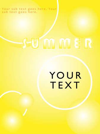 hot summer Stock Vector - 22529100