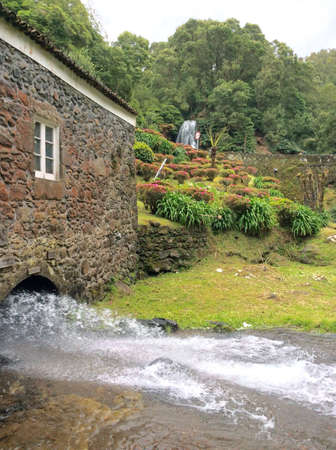 Water mill in Ribeira dos Caldeires