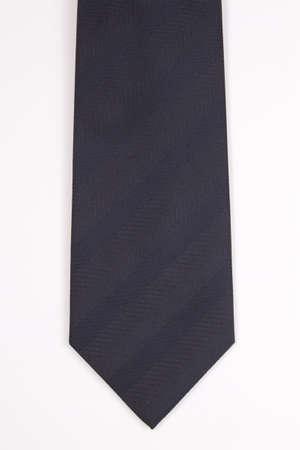 granatowy: Granatowy krawat na białym tle