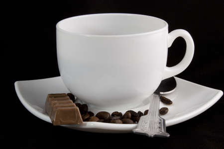 Small cup of black coffee Stock Photo - 13569380