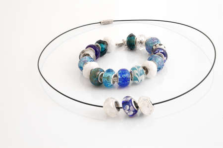 trinkets: Colorfull bracelet and necklace with beads