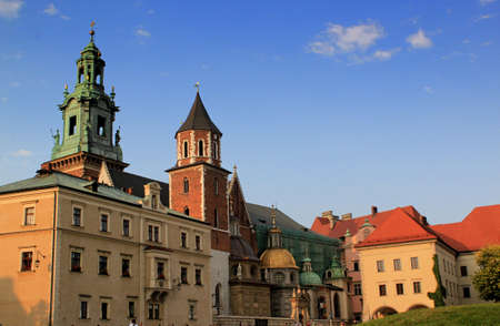 Beautiful Cracow in Poland Stock Photo - 13562130