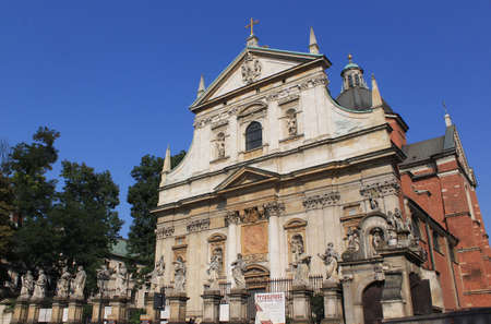 St  Peter and St  Paul Church in Cracow