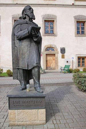 Sculpture of John Mateyko