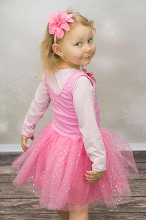 Small ballet dancer Stock Photo
