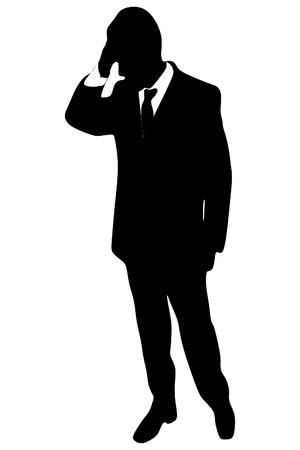 worried businessman: worried businessman