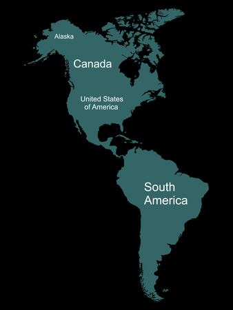 61763374 north and south america map