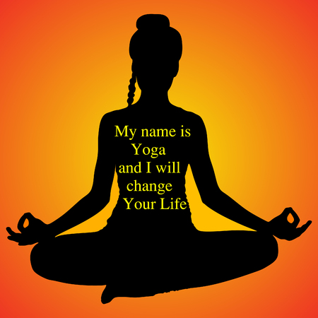 siddhasana: yoga girl sitting in Ardha Padmasana, half lotus posture, Siddhasana, asana for meditation, breathing exercises