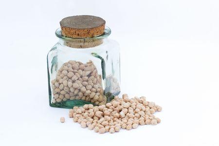 ヒヨコ豆 写真素材