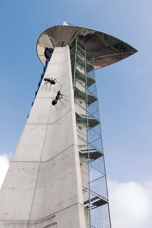 ants tower Stock Photo