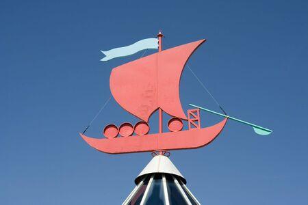 rabelo: Rabelo Boat - symbol of Oporto - Portugal Stock Photo