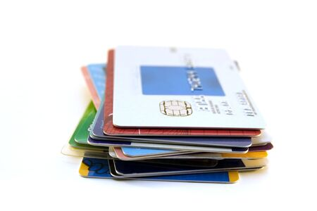 Stack of credit cards Stock Photo - 1159272