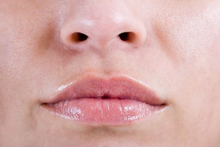 Beautiful Womans lips Stock Photo - 1269058