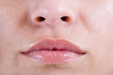 Beautiful Womans lips Stock Photo - 1269058
