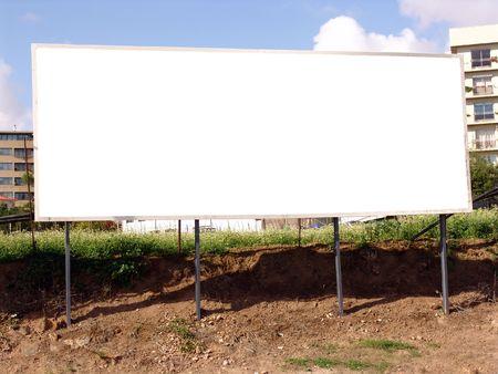 Blank billboard                                Stock Photo - 1269270