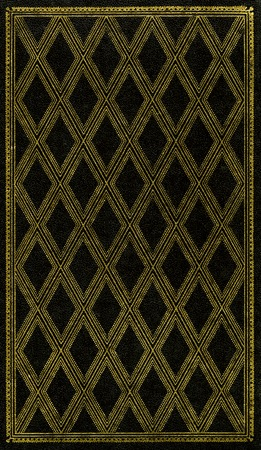 bind: Front cover of an old book