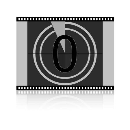 Film Countdown at No 0 Zero photo
