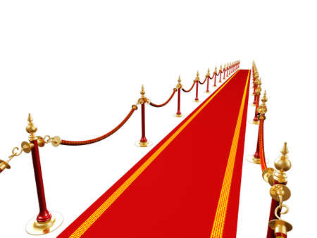 3d render of red carpet photo