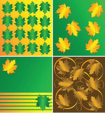 warmth: Autumn-Leaves-pattern
