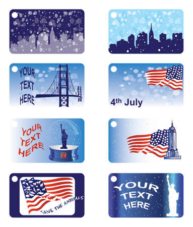 empire state: Greeting cards - New York Illustration