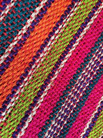 traditional textured: Background diagonal color striped Mexican texture