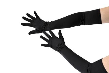 fetisch frau mit langen fingern
