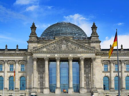 central government: The German Reichstag, Berlin, Germany