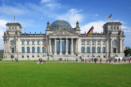 east berlin: The German Reichstag, Berlin, Germany