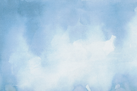 surface level: Abstract Blue Watercolor Background