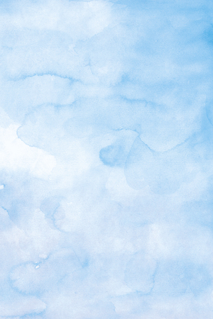 High Resolution Blue Watercolor Background