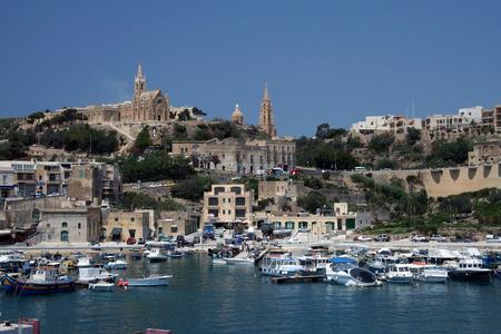 Mgarr Gozo island Malta Stock Photo
