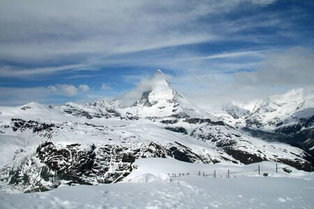 pyramid peak: Matterhorn from Gornergrat