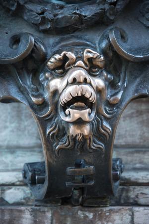 residenz: Lion muzzle at the Residenz
