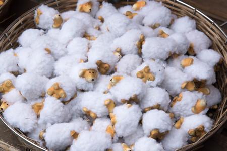 flock: Flock of sheep dolls