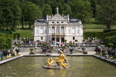 ettal: Linderhof castle Editorial