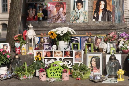 michael jackson: Michael Jackson memorial in Munich