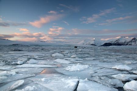 ices: Ices in Jokulsarlon, Iceland Stock Photo
