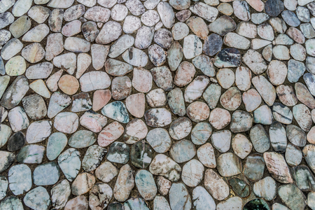 Background with different kinds of beautiful stones