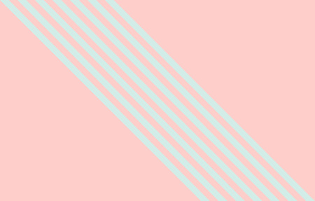 Seven diagonal stripes on pink background with copy space, graphic resource as abstract background, textile print, wallpaper and geometric inspiration