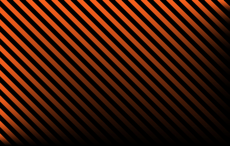 Black and orange diagonal stripes with gradient effect and copy space, graphic resource as abstract background, textile print, wallpaper and geometric inspiration Reklamní fotografie