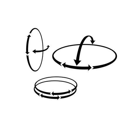 rotational: movement or volumetric measurement, rotational control show