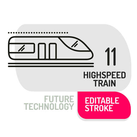 high speed train: High speed train icon. concept for design vector illustration. Illustration