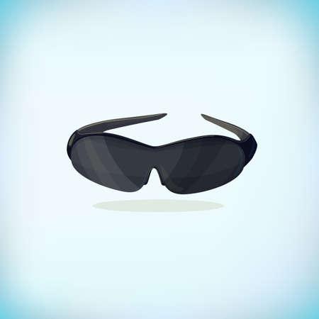 Black Sunglasses. Cool cartoon glasses, Thug lifestyle.