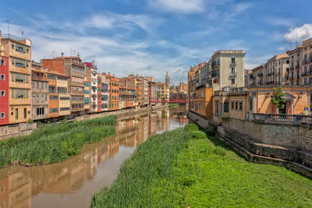 Gerona (Girona) is a city in the northeast of the Autonomous Community of Catalonia in Spain. photo