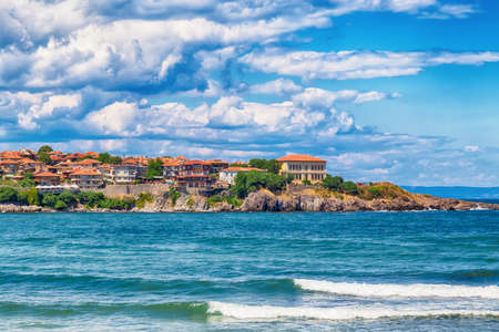View at Old Town of Sozopol, Bulgaria